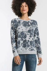 The Marled Floral Pullover | Z Supply