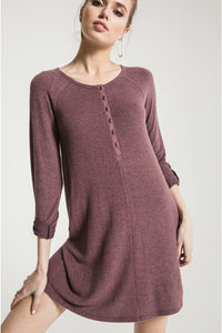 The Marled Henley Dress | Z Supply