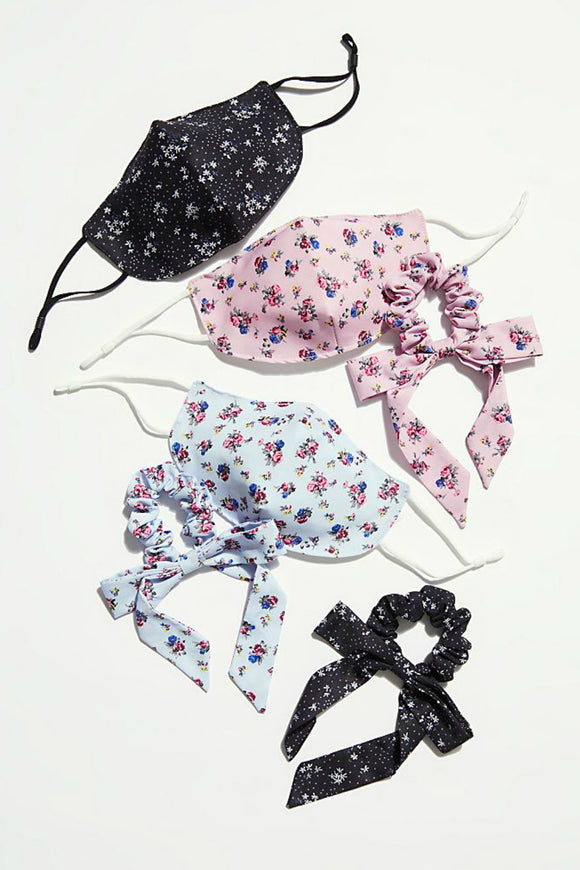Mask & Bow Floral Pack | Free People
