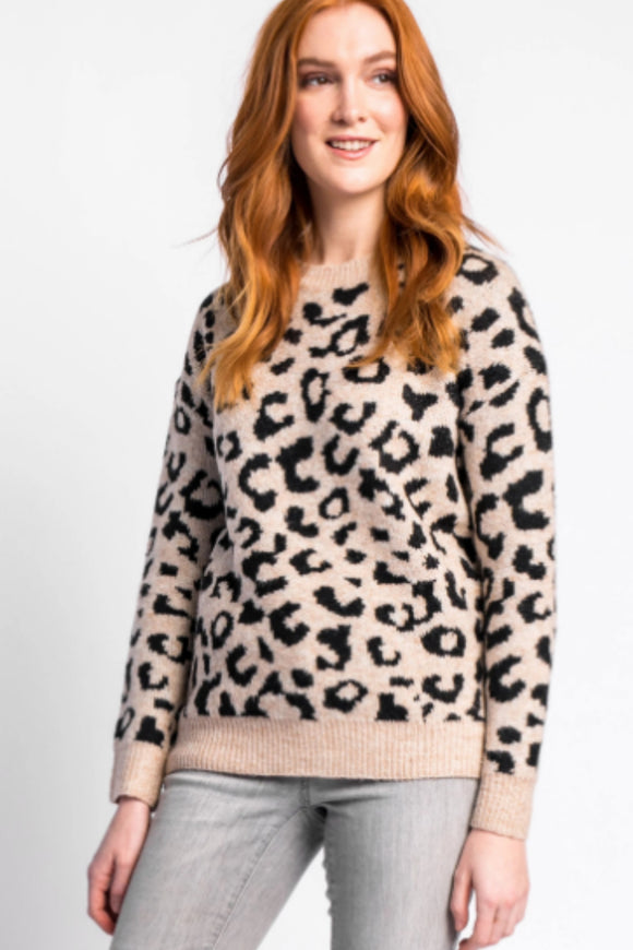 Pink Martini meow-t sweater. Jolie folie boutique
