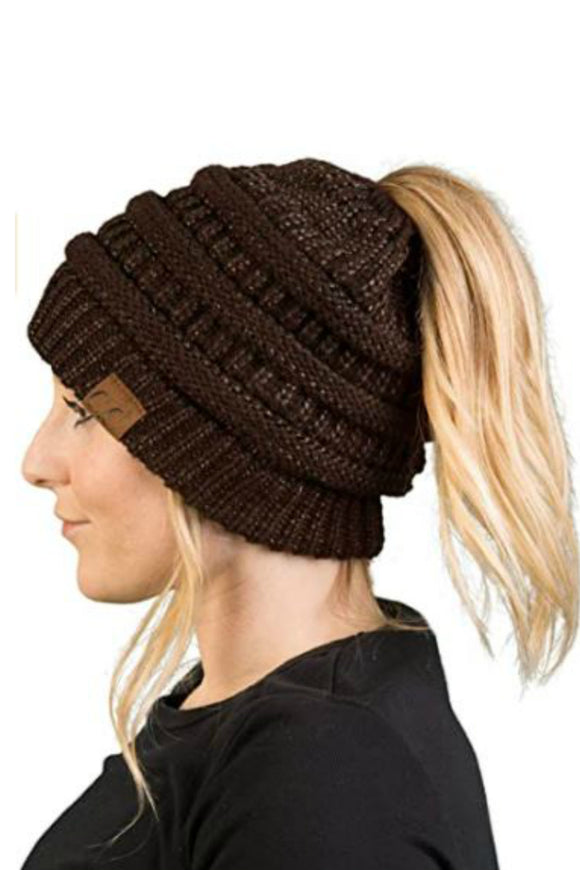 messy bun by cc beanie