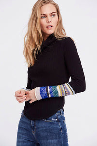 Mixed Up Cuff Top | Free People