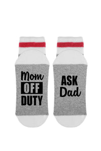 Mom Off Duty Ask Dad | Sock Dirty To Me