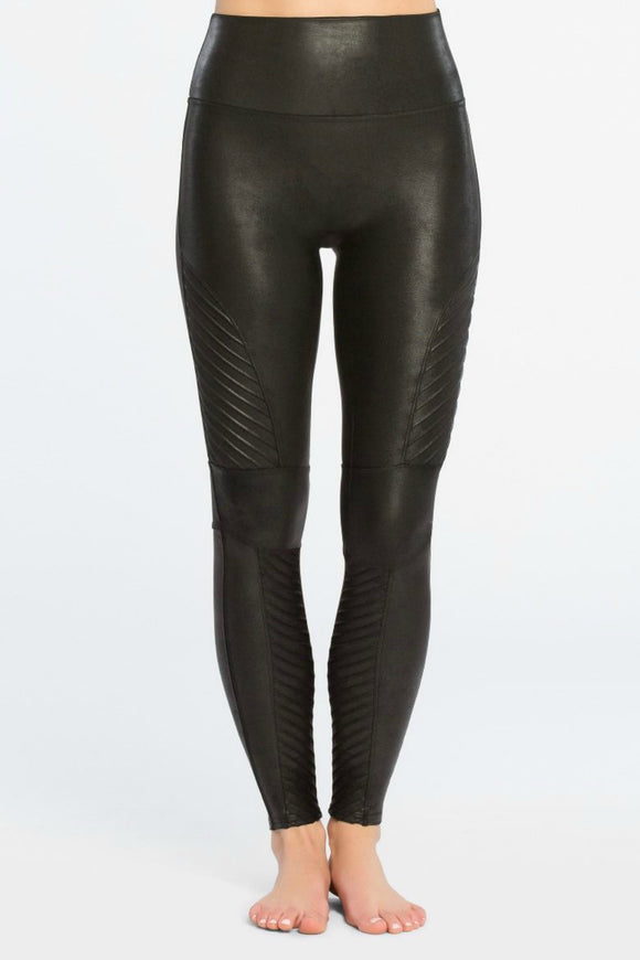 Faux Leather Moto Leggings | Spanx