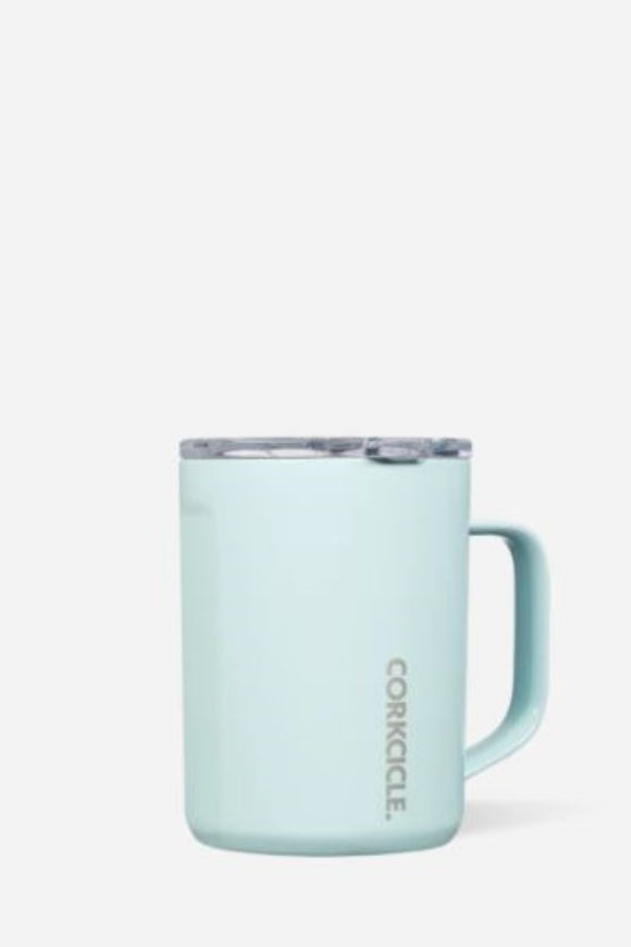 Travel Coffee Mug - Gloss Powder Blue | Corkcicle