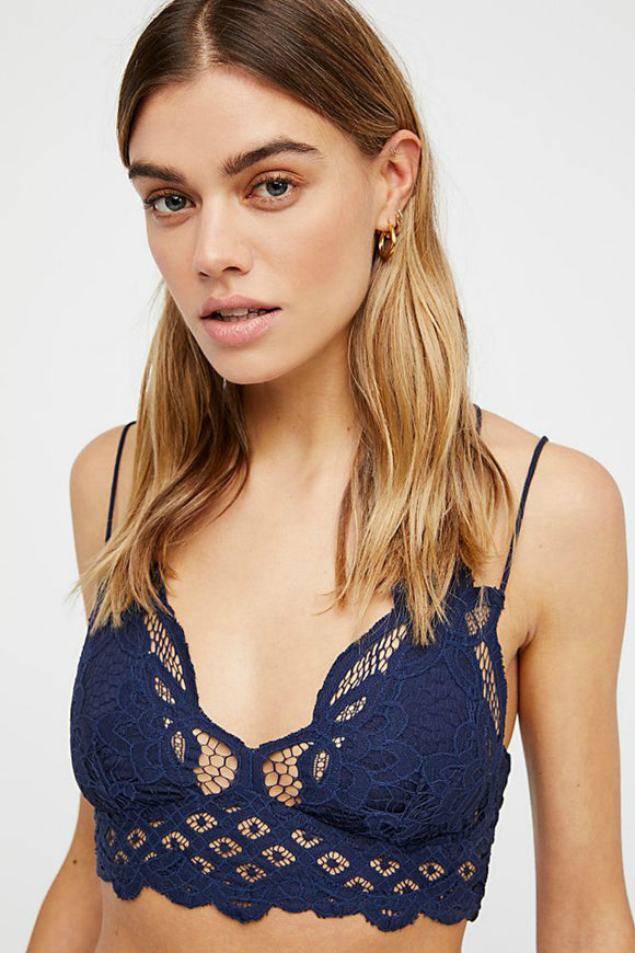 Adella Bralette - Navy | Free People