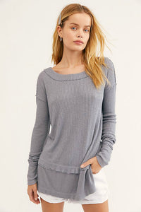 North Shore Thermal - Grey | Free People