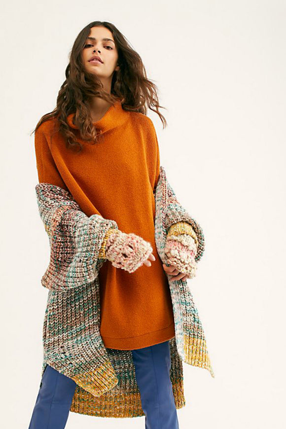 Free People ottoman sweater. Jolie folie boutique