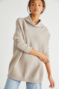 Ottoman Slouchy Tunic - Oyster | Free People