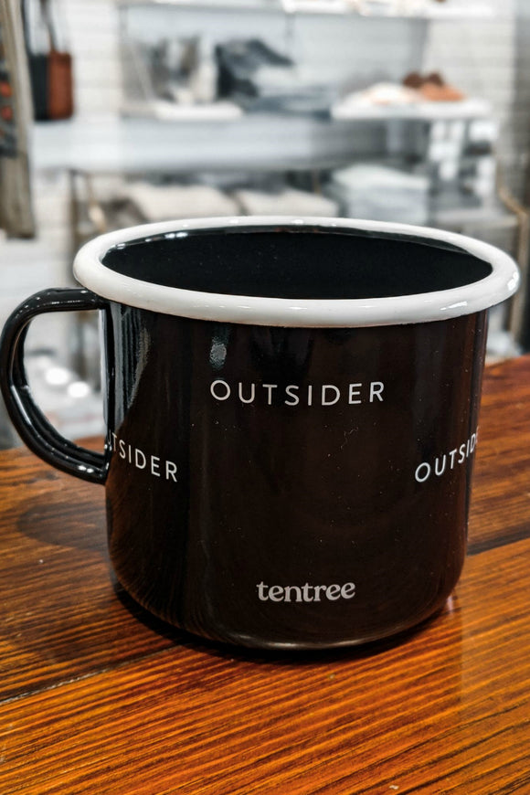 Enamel Camp Mug - Outsider | Tentree