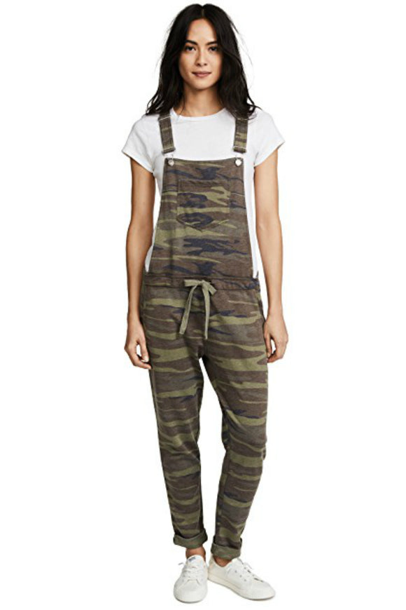 The Camo Overalls - Camo Green | Z Supply