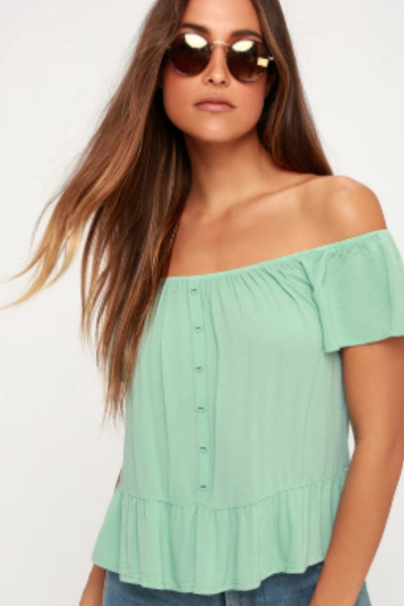 Panorama Off-The-Shoulder Top | Others Follow