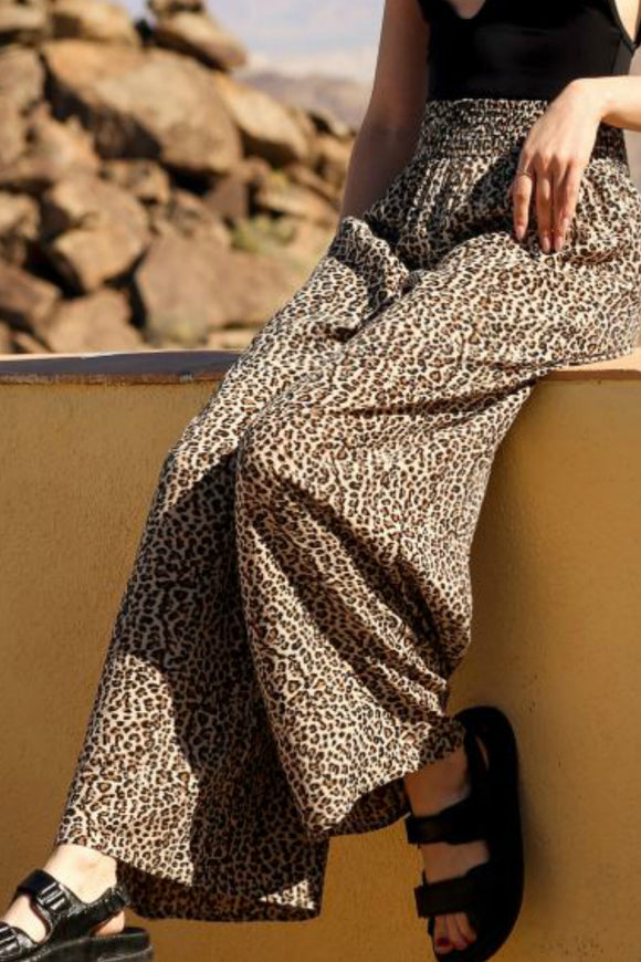 The Leopard Pant | Koy Resort x Brunette
