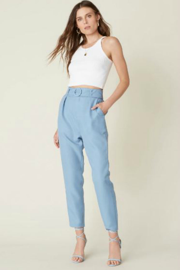 Nice Hustle Belted Pant | BB Dakota