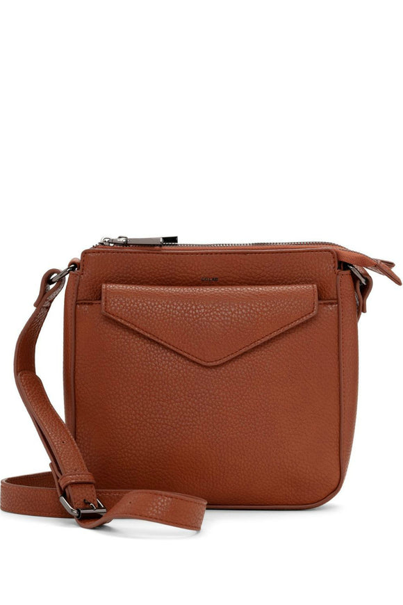 Pebble Crossbody With Pouch - Cognac | Colab