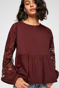 Embroidered Penny Tee | Free People