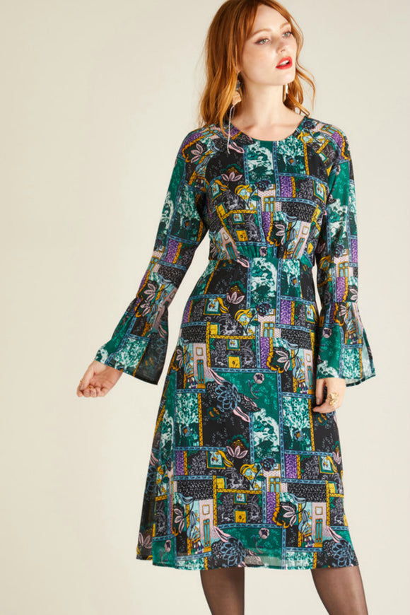 Persian Patchwork Dress | Yumi