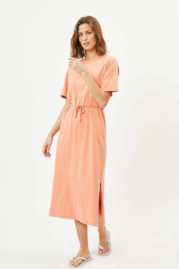 Women's casual, cotton,  midi dress