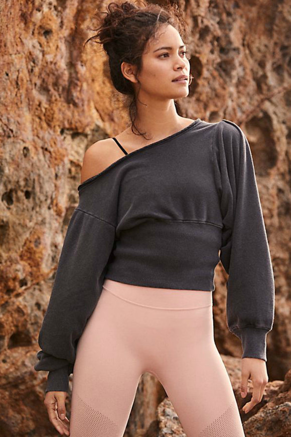 Pirouette Sweat Top | Free People