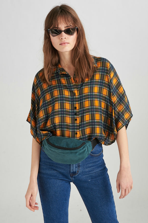Plaid Blouse | 24Colours