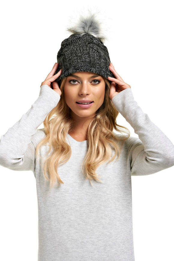 Schwiing praline grey mix beanie. Jolie folie boutique