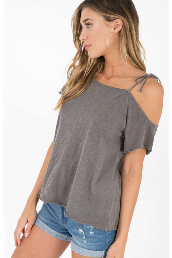 Pratt Cold Shoulder Tee | Others Follow