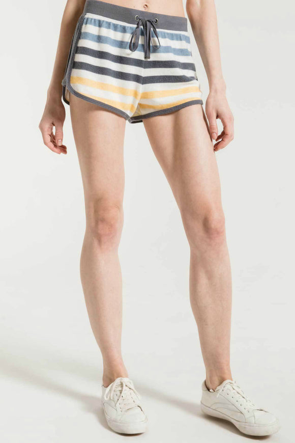 womens stripe shorts by z supply