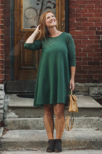 Riverbend Tunic - Green | Blondie Apparel