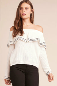 Rush Week Ruffle Sweater | BB Dakota