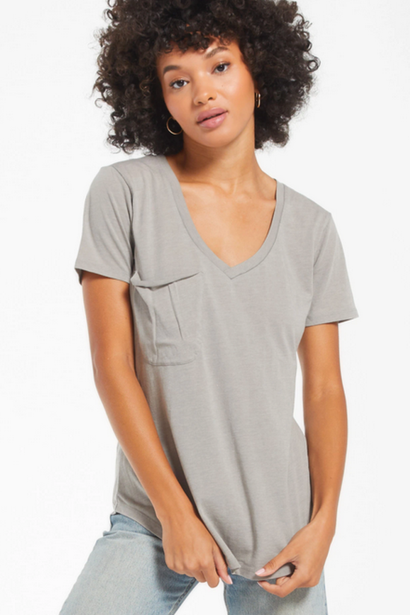 The Pocket Tee in Dusty Sage | Z Supply