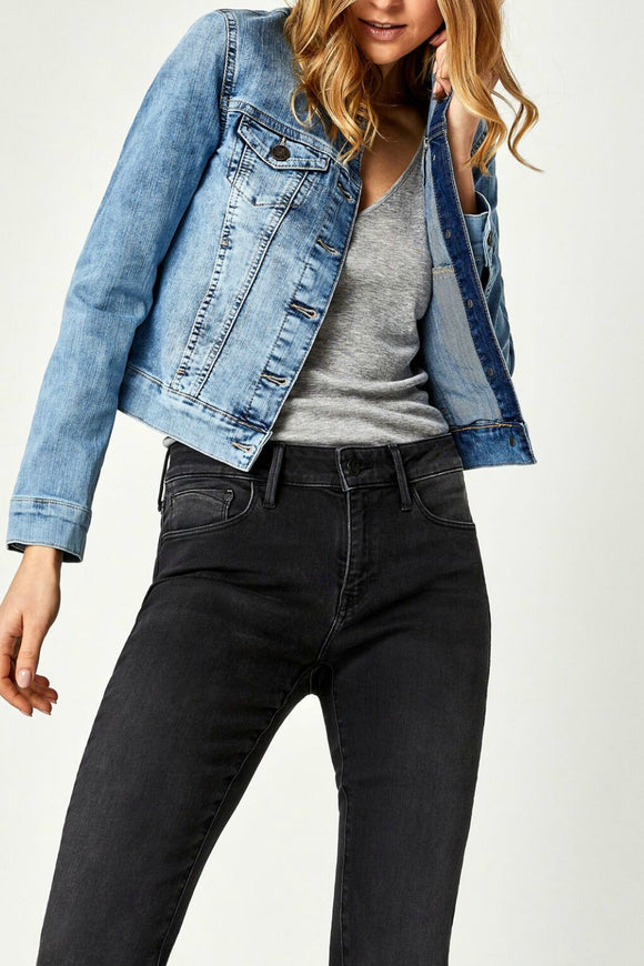 Samantha Denim Jacket - Bleach Random Nolita | Mavi
