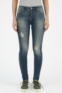 Women's destressed skinny jeans by articles of society. Jolie folie boutique