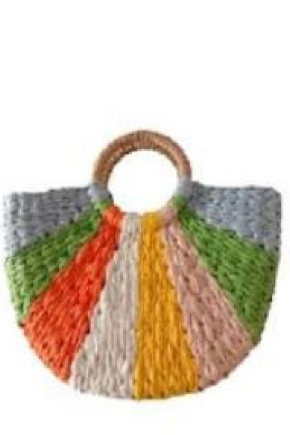 Scarlett Straw Bag - Multi | Urban Luxe