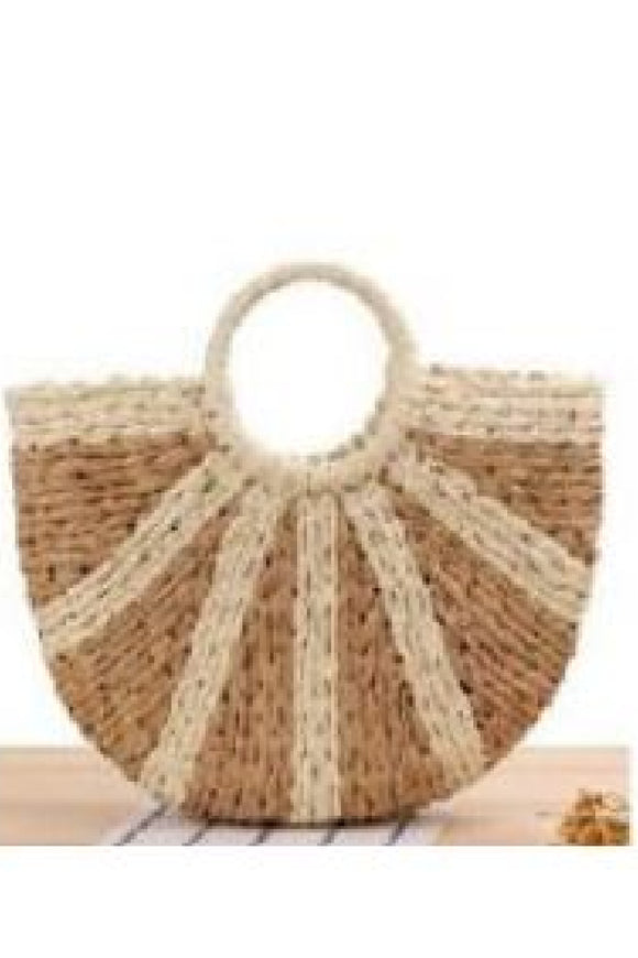 Scarlett Straw Bag - Natural Cream | Urban Luxe
