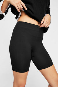 Seamless Rib Bike Short | Free People