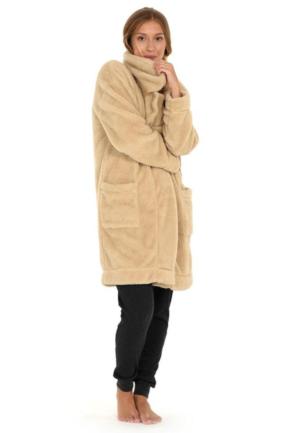 Ayn Sherpa Coat | Paper Label