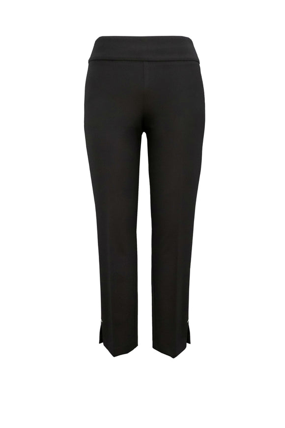 Black luxury pull-on trouser by Up Pants.