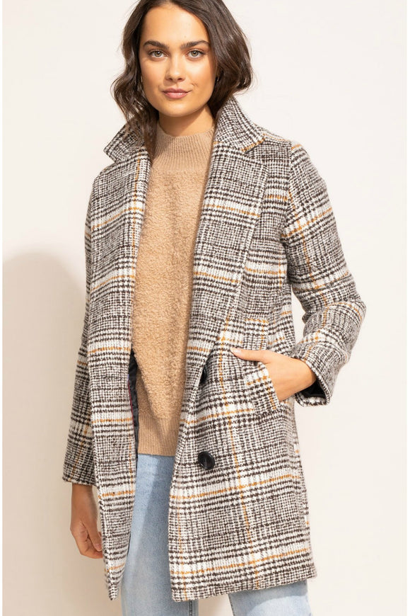siena plaid jacket by pink martini