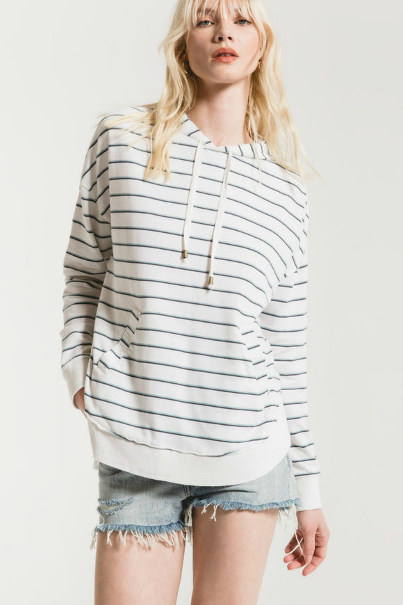 stripe hoodie by z supply
