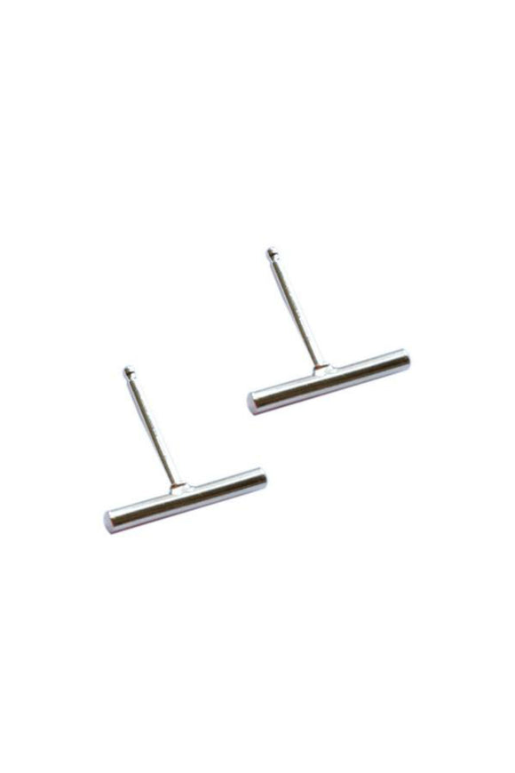 Sterling Silver Stick Studs  | Strut Jewelry