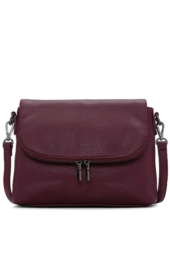 Pebble Small Messenger - Wine | Colab