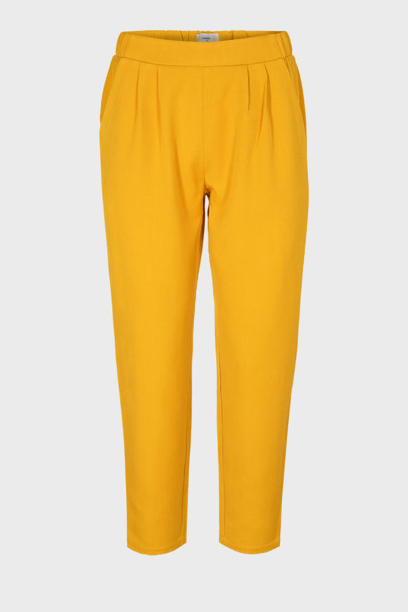 Womens yellow casual pants.