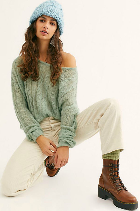 Angel Soft Pullover - Lime | Free People