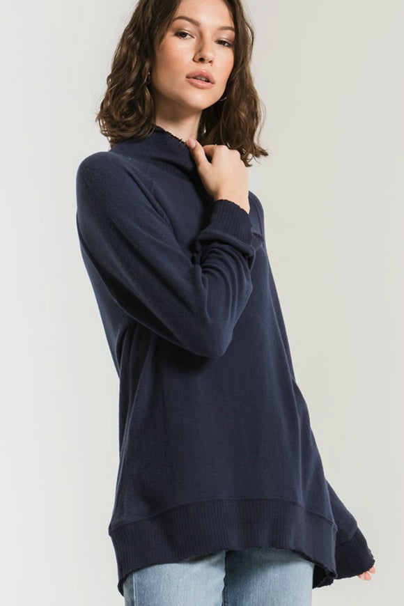 Z Supply soft spun mock pullover. Jolie folie boutique