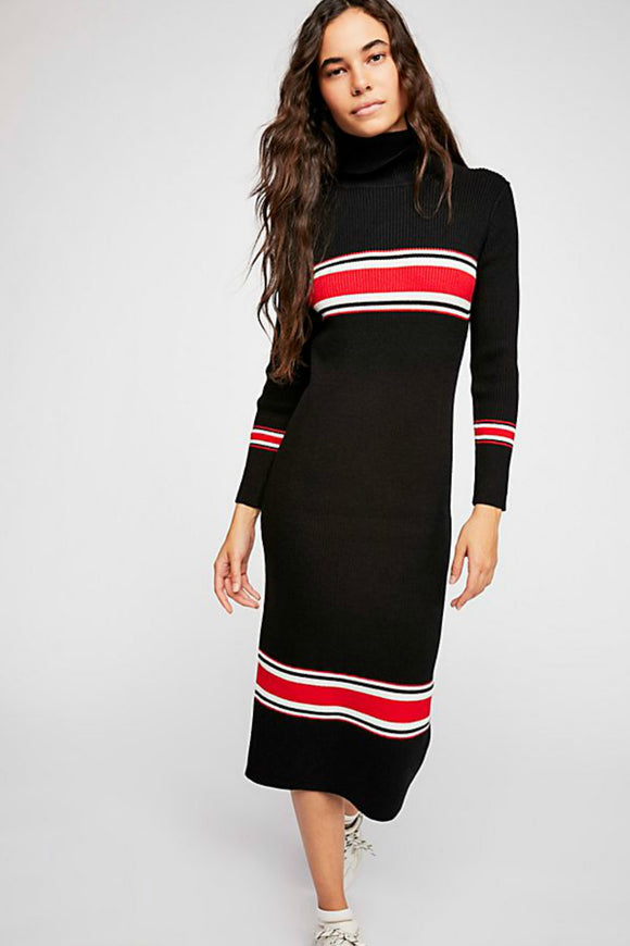 Sport Stripe Midi Dress | Free People