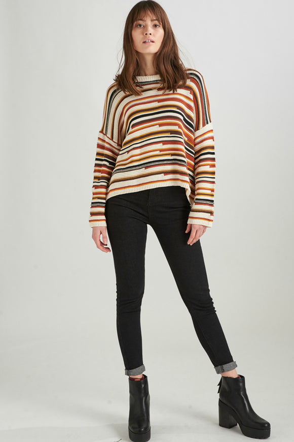 The Striped Pullover | 24Colours