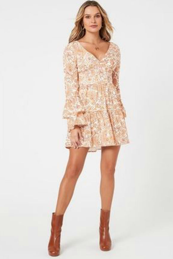 Sunrise Paisley Mini Dress | Minkpink