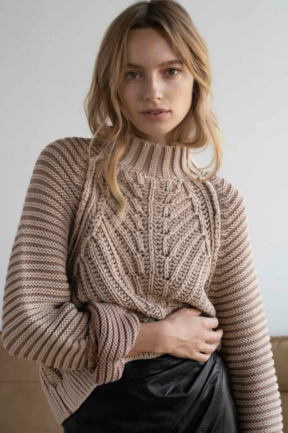 sweethear knit sweater by free people