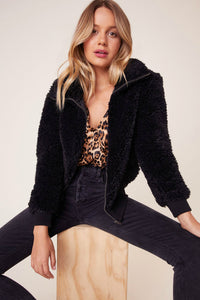 BB Dakota teddy or not bomber. Jolie folie boutique