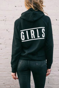 "The Girls ""Top Knot"" Hoodie 